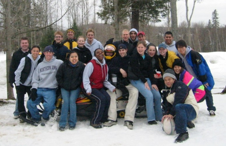 NIBS 2003 - Cultural Event - Skidoos, Cross-country Skiing and Snowball Fights